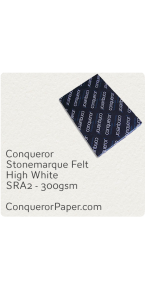 PAPER - Stonemarque.96881, TINT:HighWhite, FINISH:Stonemaque, PAPER:300gsm, SIZE:700x1000mm, QUANTITY:100Sheets, WATERMARK:No