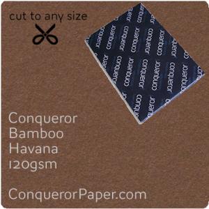 PAPER - Bamboo.64449, TINT:Havana, FINISH:Bamboo, PAPER:120gsm, SIZE:B1-700x1000mm, QTY:250Sheets, WATERMARK:No