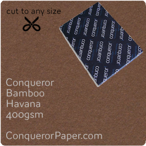 PAPER - Bamboo.64475, TINT:Havana, FINISH:Bamboo, PAPER:400gsm, SIZE:700x1000mm, QTY:100Sheets, WATERMARK:No