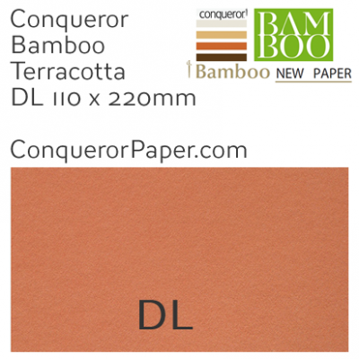 ENVELOPES - BAMBOO.72248, TINT=Terracotta, WINDOW=No, TYPE=Wallet, QUANTITY=500, SIZE=DL-110x220mm