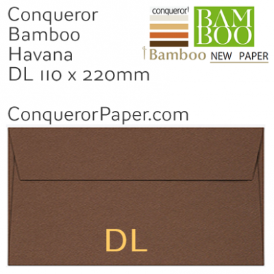 ENVELOPES - BAMBOO.72254, TINT=Havana, WINDOW=No, TYPE=Wallet, QUANTITY=500, SIZE=DL-110x220mm