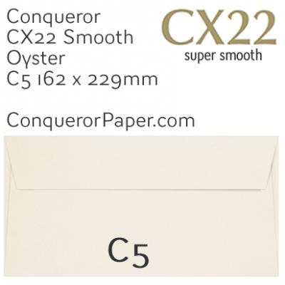 ENVELOPES - CX22.01548, TINT=Oyster, WINDOW=NoWindow, TYPE=Wallet, QUANTITY=250, SIZE=C5-162x229mm