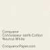 PAPER - CONNOISSEUR.96793, TINT:Neutral, FINISH:Cotton, PAPER:160gsm, SIZE:700x1000mm, QUANTITY:150Sheets, WATERMARK:No