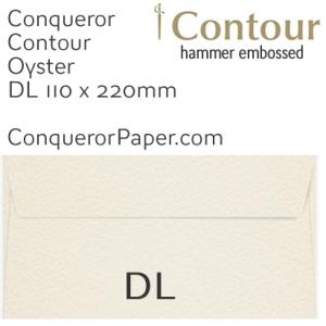 ENVELOPES - CONTOUR.01137, TINT=Oyster, WINDOW=No, TYPE=Wallet, QUANTITY=500, SIZE=DL-110x220mm