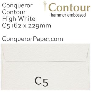 SAMPLE - CONTOUR.01553, TINT=HighWhite, WINDOW=No, TYPE=Wallet, SIZE=C5-162x229mm