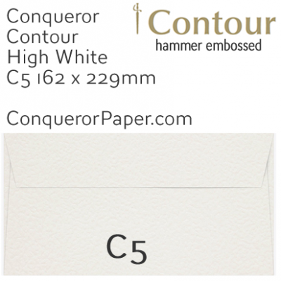 ENVELOPES - CONTOUR.01553, TINT=HighWhite, WINDOW=No, TYPE=Wallet, QUANTITY=250, SIZE=C5-162x229mm