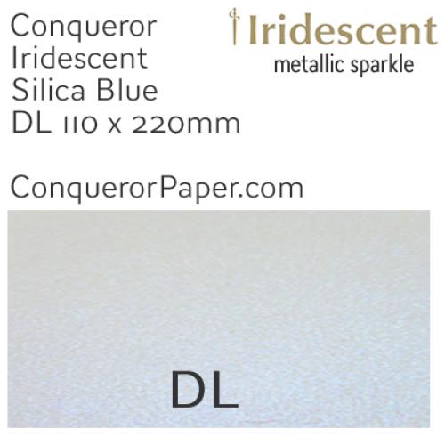 ENVELOPES - IRIDESCENT.3038, TINT=SilicaBlue, TYPE=Wallet, QUANTITY=500, SIZE=DL-110x220mm