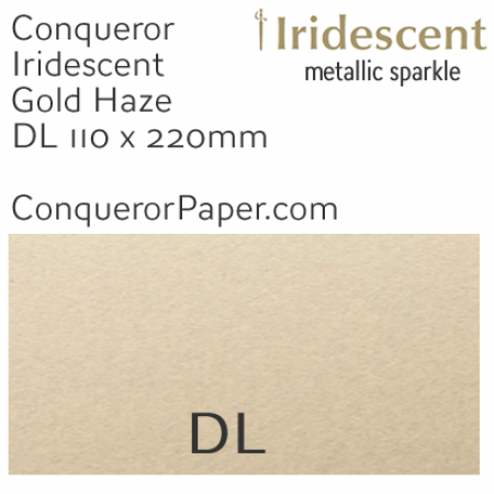 ENVELOPES - IRIDESCENT.38554, TINT=GoldenHaze, TYPE=Wallet, QUANTITY=500, SIZE=DL-110x220mm