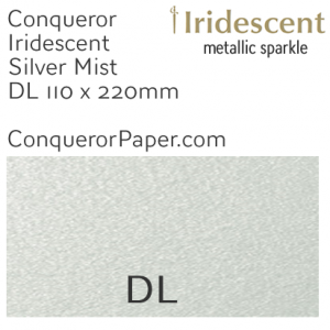 ENVELOPES - IRIDESCENT.38556, TINT=SilverMist, TYPE=Wallet, QUANTITY=500, SIZE=DL-110x220mm