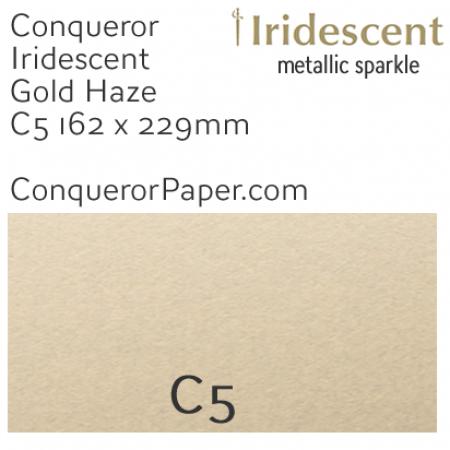 ENVELOPES - IRIDESCENT.38557, TINT=GoldenHaze, TYPE=Wallet, QUANTITY=250, SIZE=C5-162x229mm