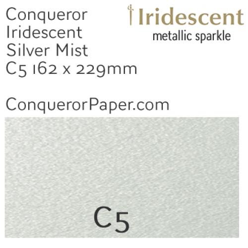 ENVELOPES - IRIDESCENT.38559, TINT=SilverMist, TYPE=Wallet, QUANTITY=250, SIZE=C5-162x229mm