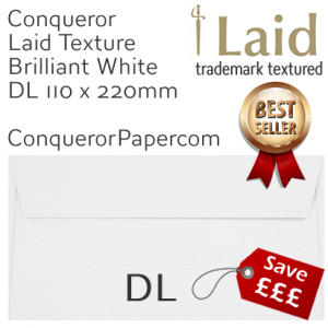 SAMPLE - Laid.01006, WINDOW=No, TYPE=Wallet, TINT=BrilliantWhite, DL-110x220mm