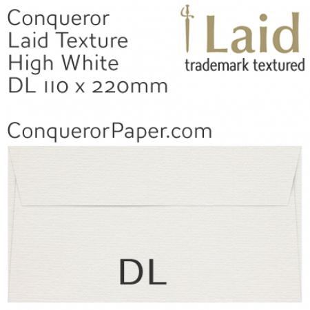 ENVELOPES - Laid.01440, WINDOW=No, TYPE=Wallet, TINT=HighWhite, SIZE=DL-110x220mm, QUANTITY=500