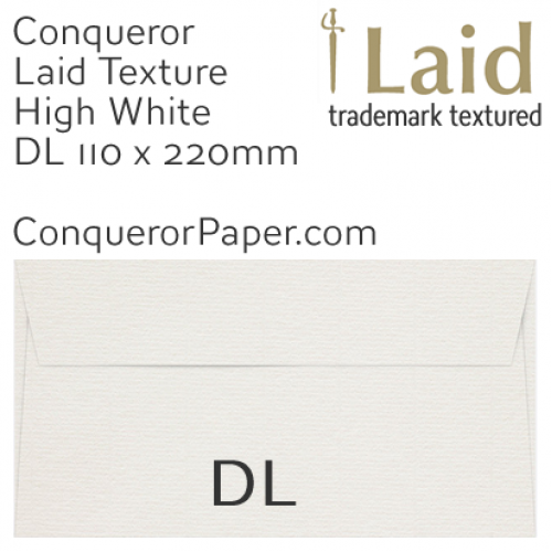 SAMPLE - Laid.01440, WINDOW=No, TYPE=Wallet, TINT=HighWhite, SIZE=DL-110x220mm, QUANTITY=1