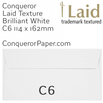 SAMPLE - Laid.01501, WINDOW=No, TYPE=Wallet, TINT=BrilliantWhite, SIZE=C6-114x162mm, QUANTITY=1