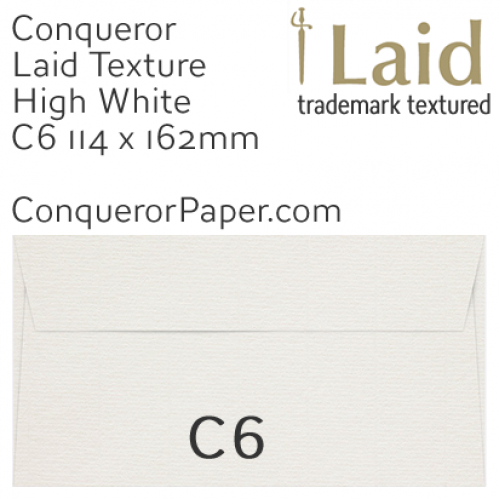 SAMPLE - Laid.01502, WINDOW=No, TYPE=Wallet, TINT=HighWhite, SIZE=C6-114x162mm, QUANTITY=1