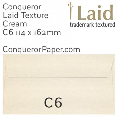 SAMPLE - Laid.01504, WINDOW=No, TYPE=Wallet, TINT=Cream, SIZE=C6-114x162, QUANTITY=1