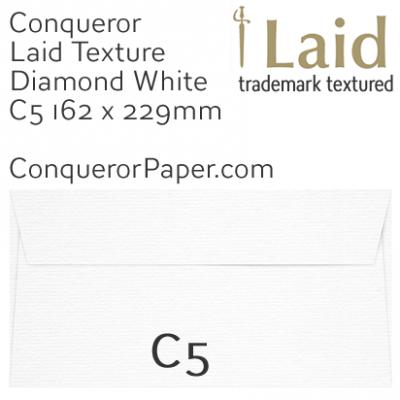 ENVELOPES - Laid.01539, WINDOW=No, TYPE=Wallet, TINT=DiamondWhite, C5-162x229mm, QUANTITY=250