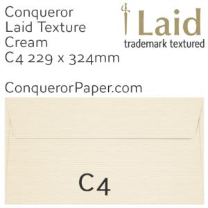 SAMPLE - Laid.02617, TINT=Cream, WINDOW=No, TYPE=Pocket, SIZE=C4-229x324mm, QUANTITY=1