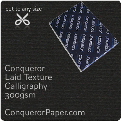PAPER - Laid.64022, TINT:Calligraphy, FINISH:Laid, PAPER:300gsm, SIZE:B1-700x1000mm, QTY:100Sheets, WATERMARKED:No