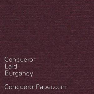 Burgandy Laid