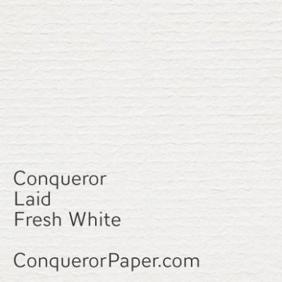 Recycled Fresh White Laid