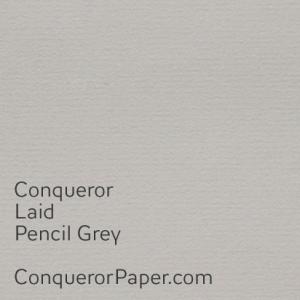 Pencil Grey Laid