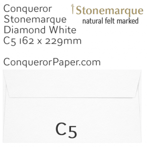 ENVELOPES - STONEMARQUE.03007, TINT=DiamondWhite, WINDOW=No, TYPE=Wallet, QUANTITY=250, SIZE=C5-162x229mm