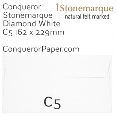 ENVELOPES - STONEMARQUE.03007, TINT=DiamondWhite, WINDOW=No, TYPE=Wallet, QUANTITY=250, SIZE=C5-162x229mm