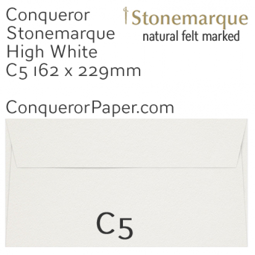 ENVELOPES - STONEMARQUE.03008, TINT=HighWhite, WINDOW=No, TYPE=Wallet, QUANTITY=250, SIZE=C5-162x229mm