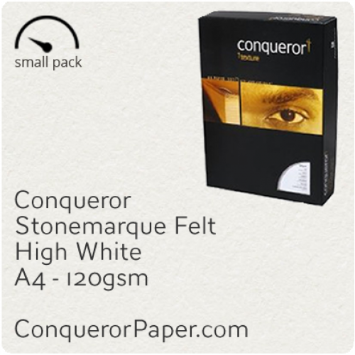 PAPER - Stonemarque.96887SP, TINT:HighWhite, FINISH:Stonemaque, PAPER:120gsm, SIZE:A4-210x297mm, QUANTITY:50Sheets, WATERMARK:No