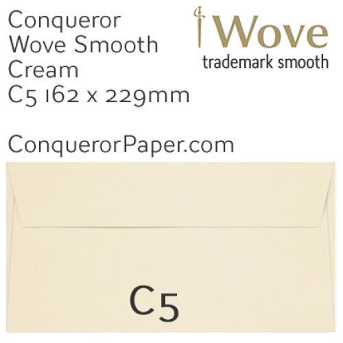 SAMPLE - Wove.01088, TINT=Cream, WINDOW=No, TYPE=Wallet, SIZE=C5-162x229mm, QUANTITY=1