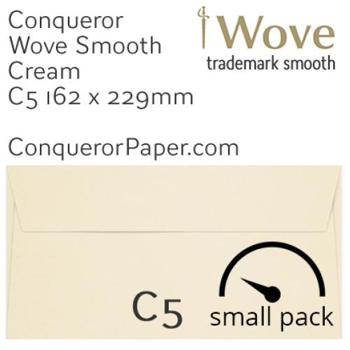 ENVELOPES - Wove.01088SP, TINT=Cream, WINDOW=No, TYPE=Wallet, SIZE=C5-162x229mm, QUANTITY=50