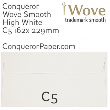 ENVELOPES - Wove.01263, TINT=HighWhite, WINDOW=No, TYPE=Wallet, SIZE=C5-162x229mm, QUANTITY=250