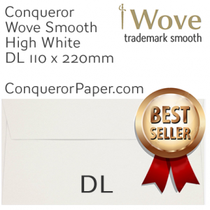 ENVELOPES - Wove.01439, TINT=HighWhite, WINDOW=No, TYPE=Wallet, SIZE=DL-110x220mm, QUANTITY=500