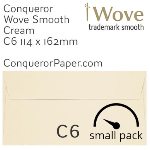 ENVELOPES - Wove.01514SP, TINT=Cream, WINDOW=No, TYPE=Wallet, SIZE=C6-114x162mm, QUANTITY=50