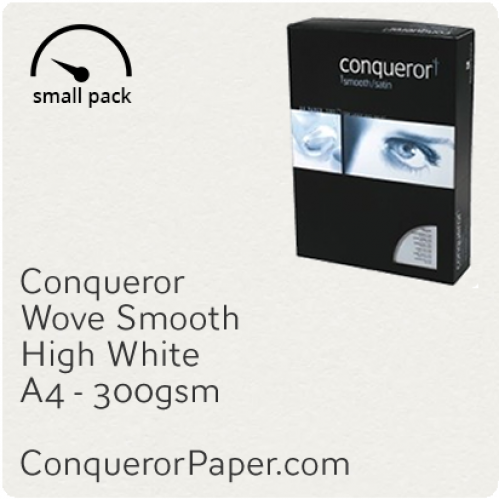 PAPER - Wove.10303SP, TINT:HighWhite, FINISH:Wove, PAPER:300gsm, SIZE:210x297mm, QTY:25Sheets, WATERMARK:No