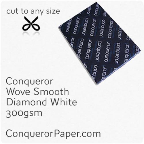PAPER - Wove.26663, TINT:DiamondWhite, FINISH:Wove, PAPER:300gsm, SIZE:450x640mm, QTY:100Sheets, WATERMARK:No