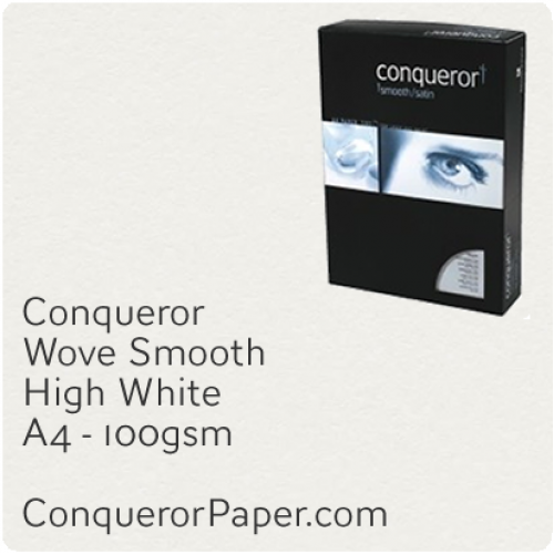 PAPER - Wove.69829C, TINT:HighWhite, FINISH:Wove, PAPER:100gsm, SIZE:A4 210x297mm, QTY:500Sheets, WATERMARK:No