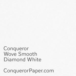 Diamond White Wove